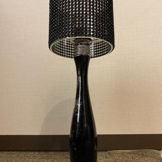 ディクラッセ 置き型照明 ブラック 使用感あり - 名古屋市