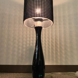 ディクラッセ 置き型照明 ブラック 使用感あり