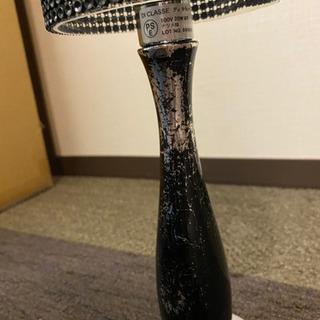 ディクラッセ 置き型照明 ブラック 使用感あり - 家電