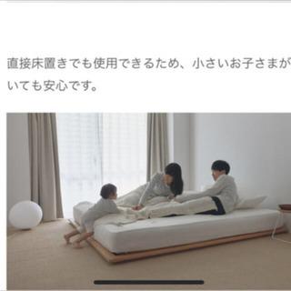 【他サイト交渉中】無印良品 ベッドフレーム セミダブル オーク材 − 東京都