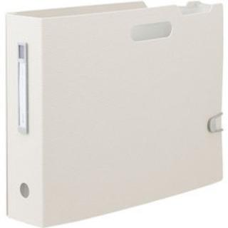 【ネット決済】ジャバラドキュメントボックス A4ヨコ ホワイト3個