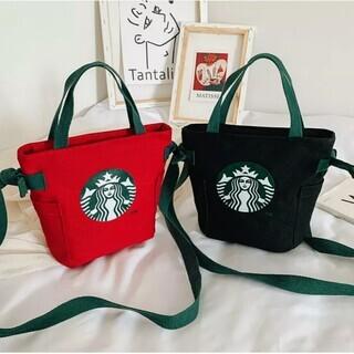母の日に♪スタババッグ2色セット★BLACK&RED★