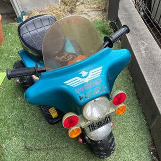【ネット決済】電動乗用バイク おもちゃ 三輪車 インテリアにも