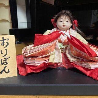 人形職人「京都ひな人形たちばな彌」のかわいらしいお人形 差し上げます。