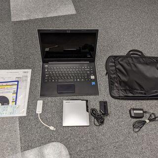 【ネット決済・配送可】ノートPC メモリ4GB搭載 eMMC32...