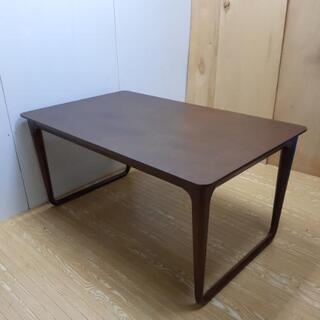 【ネット決済・配送可】jtp-0043 ダイニングテーブル ブラウン