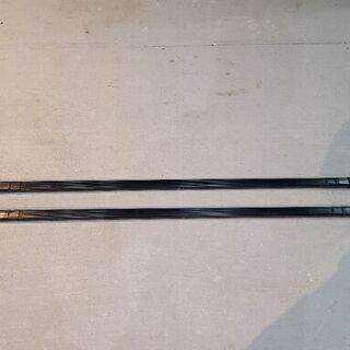 カーメイト ルーフキャリア inno ベーシックバー 127cm...