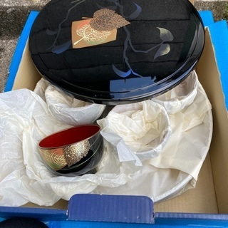 新品 寿司桶 お椀セット