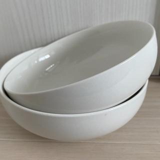 【100円】白いお皿 ペア