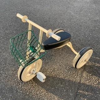 無印良品 三輪車 難あり