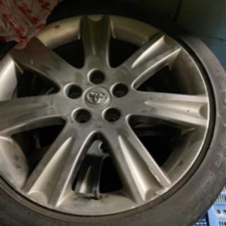 (受け渡し者決定)純正タイヤホイールセットの画像