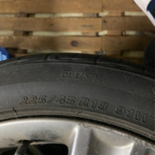 (受け渡し者決定)純正タイヤホイールセット - 車のパーツ