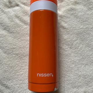 ステンレスボトル オレンジ色 ニッセン