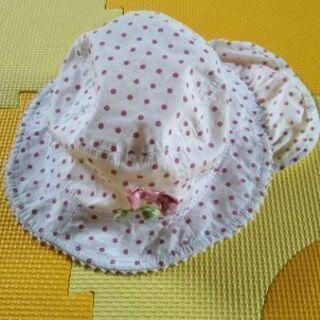 ベビー水玉帽子48