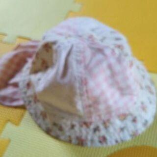 夏用の花模様帽子48