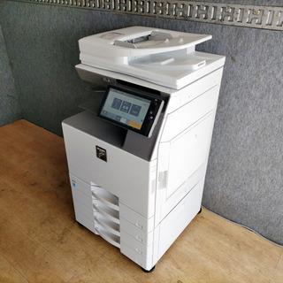 デジタルフルカラー複合機 SHARP 2019年 保証付き…