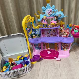 ディズニー お城 人形 フィギュア おもちゃ