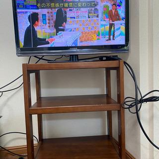 (受け渡し者決定)テレビとテレビ台