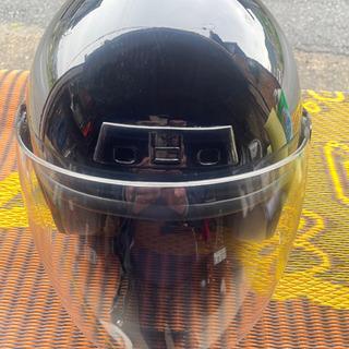 お話中…バイクヘルメット(一度使用品)