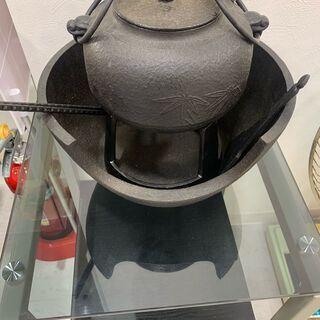 レトロ 茶道具 風炉釜