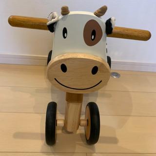 モーモーバイク 木製三輪車