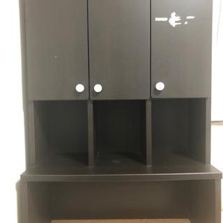 【ネット決済】茶色のシェルフ 棚