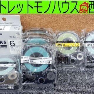 テプラPRO テープカートリッジ 6mm/4mm幅 計7個…