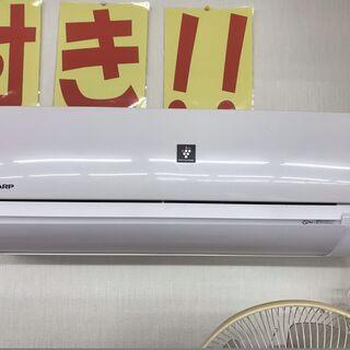 2018年製!!! 標準工事費サービス!!! シャープ 2.2k...