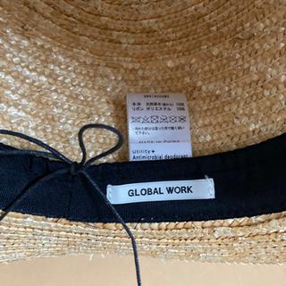 スローハット 麦わら帽子 グローバルワーク - 名古屋市
