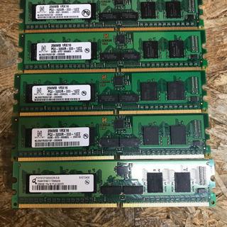 (M5214-00) 256MB PC用 メモリ 5枚セッ…