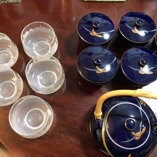 無料です!和茶器、冷茶グラス