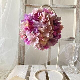 紫陽花のフラワーボール - フラワー