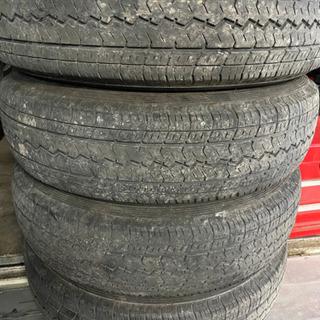 タイヤあげます。 165R14 4本 無料です。