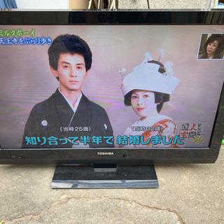 TOSHIBA REGZA 32inc