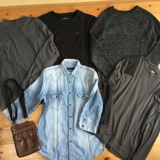 メンズ セーター Tシャツ ジャケット バッグ 6点セット