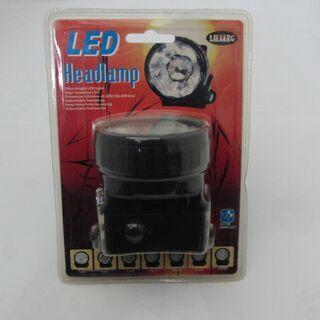 アウトドアや釣りで活躍!省電力で長寿命!「LEDヘッドランプ」L...