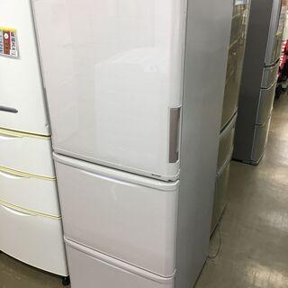 シャープ SJ-PW35C-C 冷凍冷蔵庫 16年