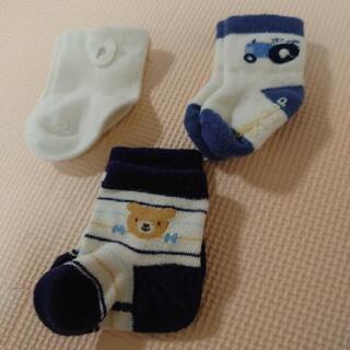 新生児~3か月頃 靴下3足