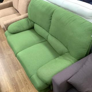 布製 関家具の2人掛けソファー売ります。