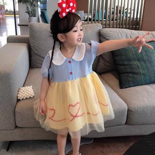 ワンピース 白雪姫Tシャツ女の子 キッズ プリンセス
