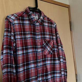 グローバルワーク ネルシャツ mサイズ レディース