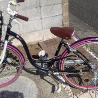 女の子用自転車 26インチ