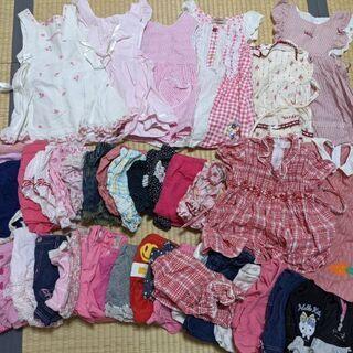 【ネット決済】子供服、女の子サイズ夏物90-95まとめ売り2