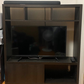 収納が多いテレビラック
