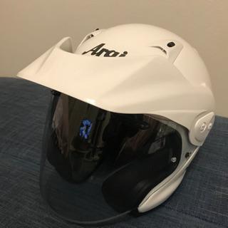 ☆新品未使用 アライヘルメット CT-Z グラスホワイト …