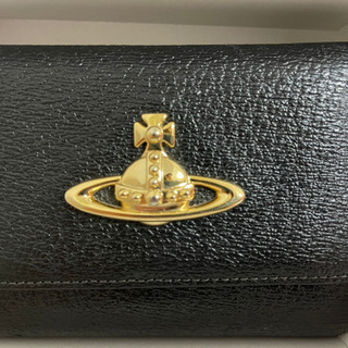 Vivianne Westwood 三つ折り財布 ブラック オーブ