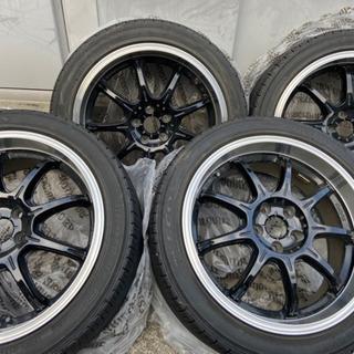 30プリウス RAYS タイヤ ホイール 17インチ