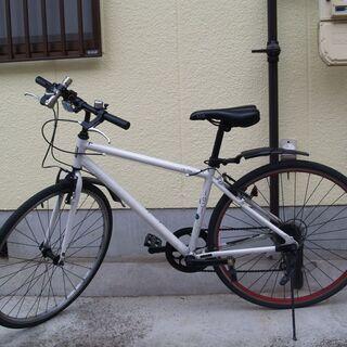 クロスバイク L.I.G アルミフレーム