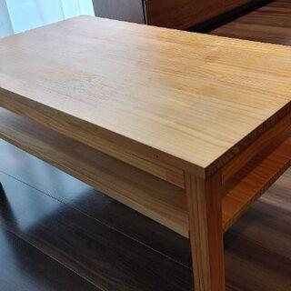 モモナチュラルのローテーブル(中野区江原町まで取りに来てい…