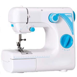 新品未使用  電動ミシン 家庭用ミシン コンパクト19種類の縫い...